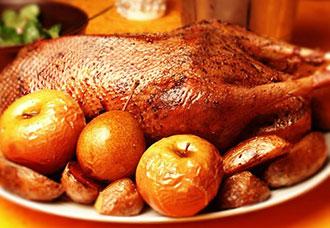Рецепт приготовления гуся
